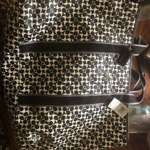 Large Brand New with tags Coach bag